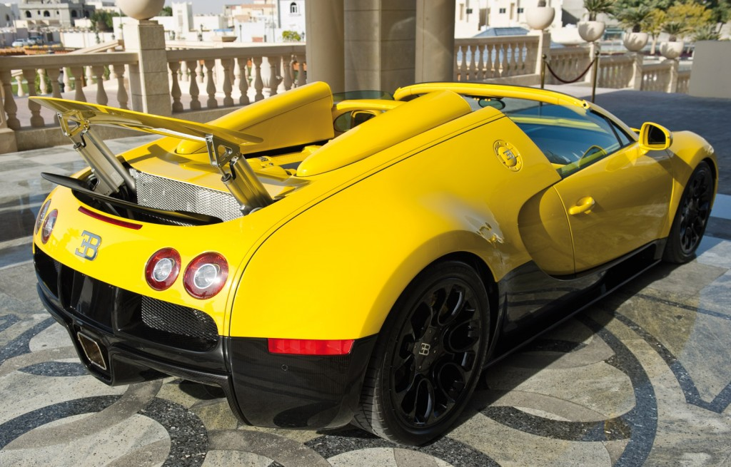 Bugatti Veyron Grand Sport Yellow 3