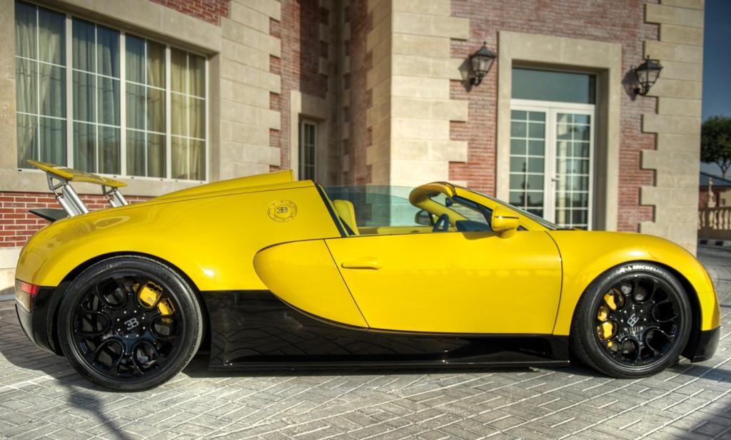 Bugatti Veyron Grand Sport Yellow 4