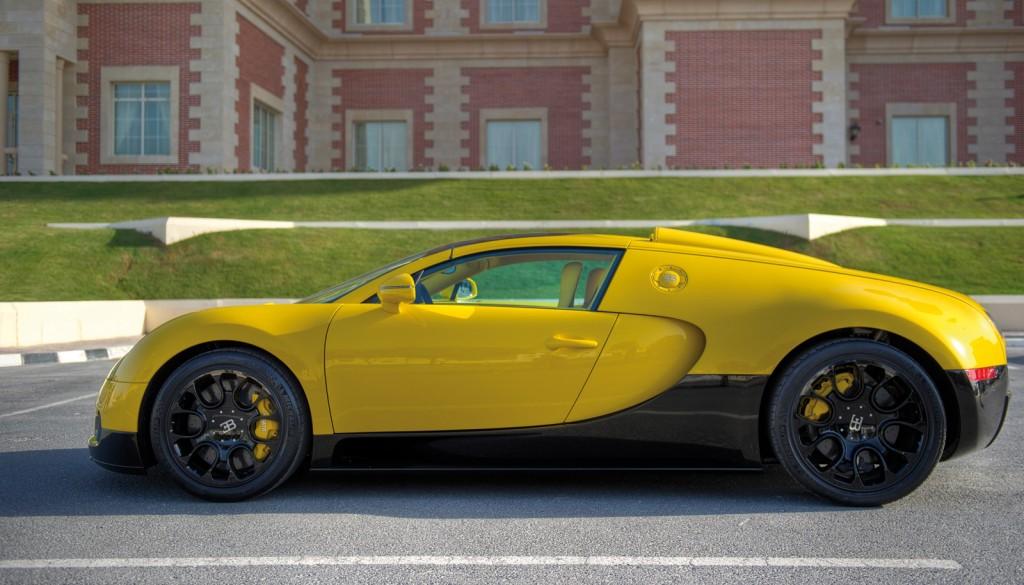 Bugatti Veyron Grand Sport Yellow 5