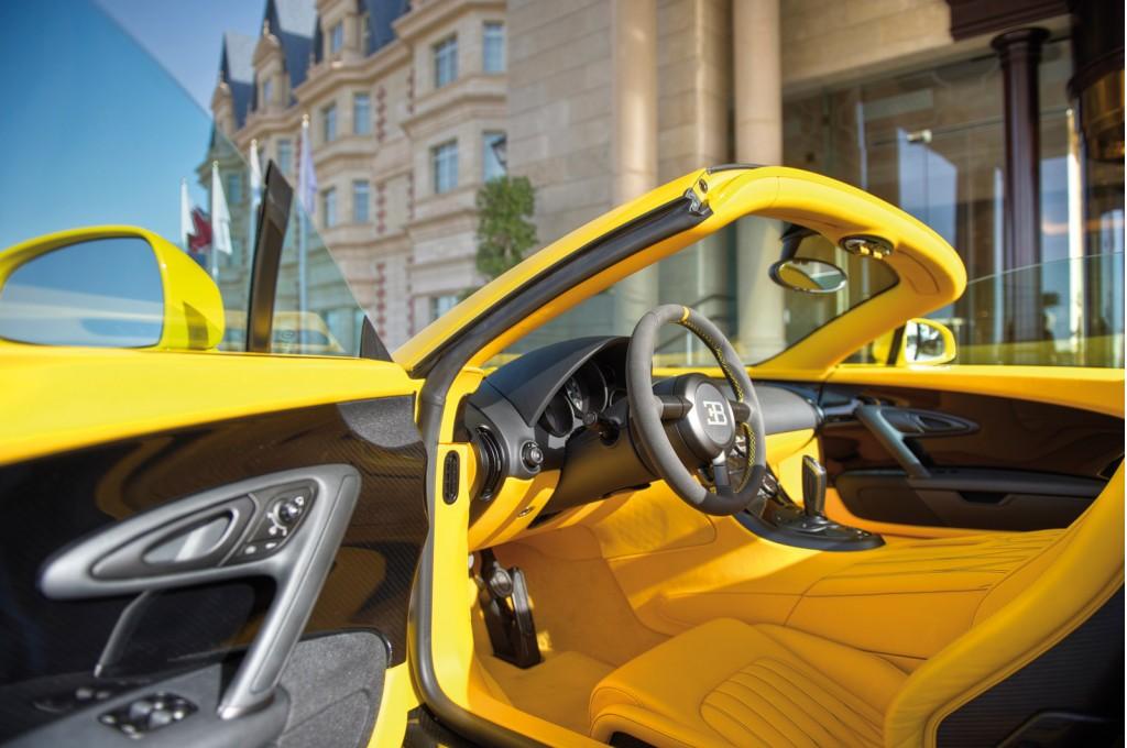 Bugatti Veyron Grand Sport Yellow 8