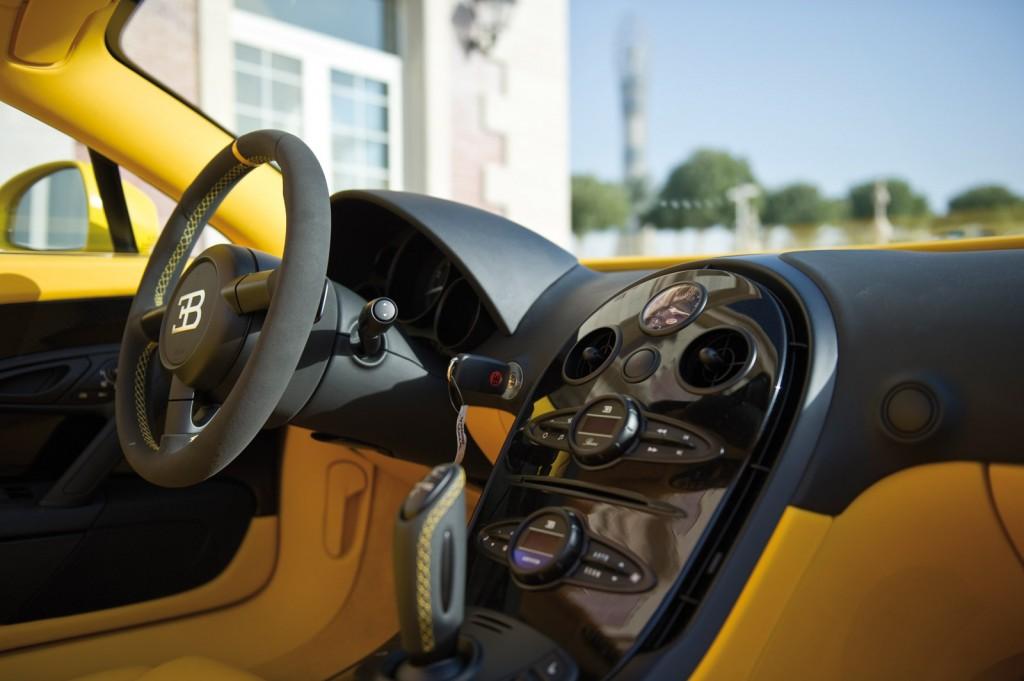 Bugatti Veyron Grand Sport Yellow 9