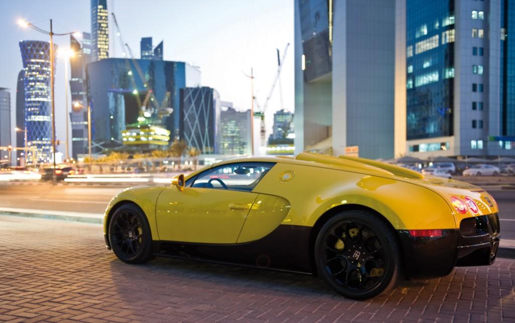 Bugatti Veyron Grand Sport Yellow