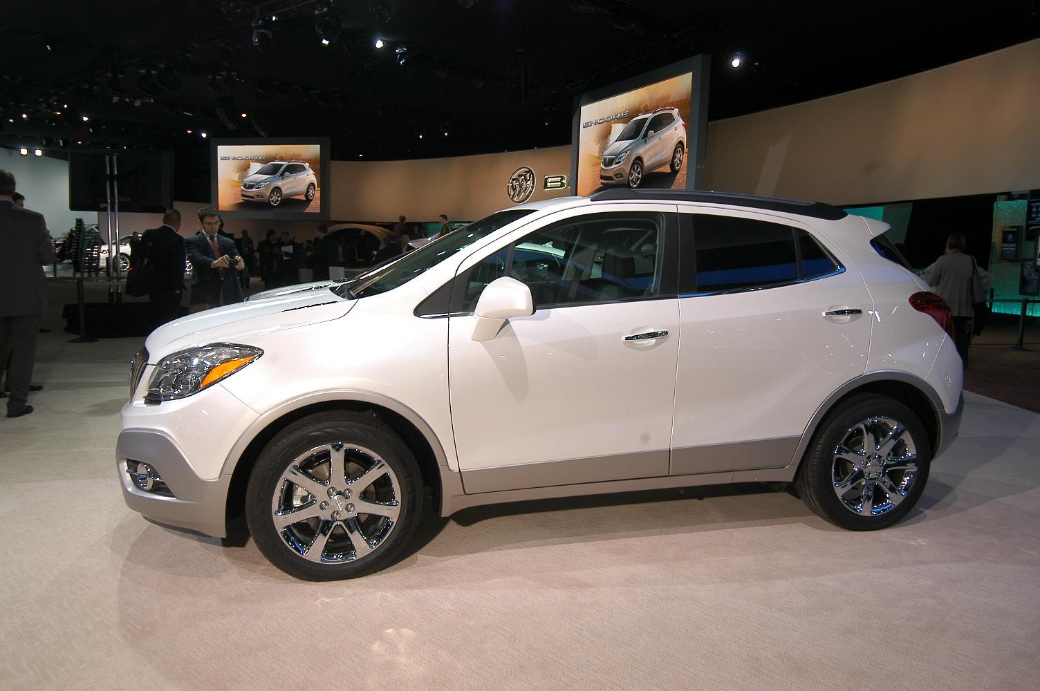 Buick Encore NAIAS 2012 3