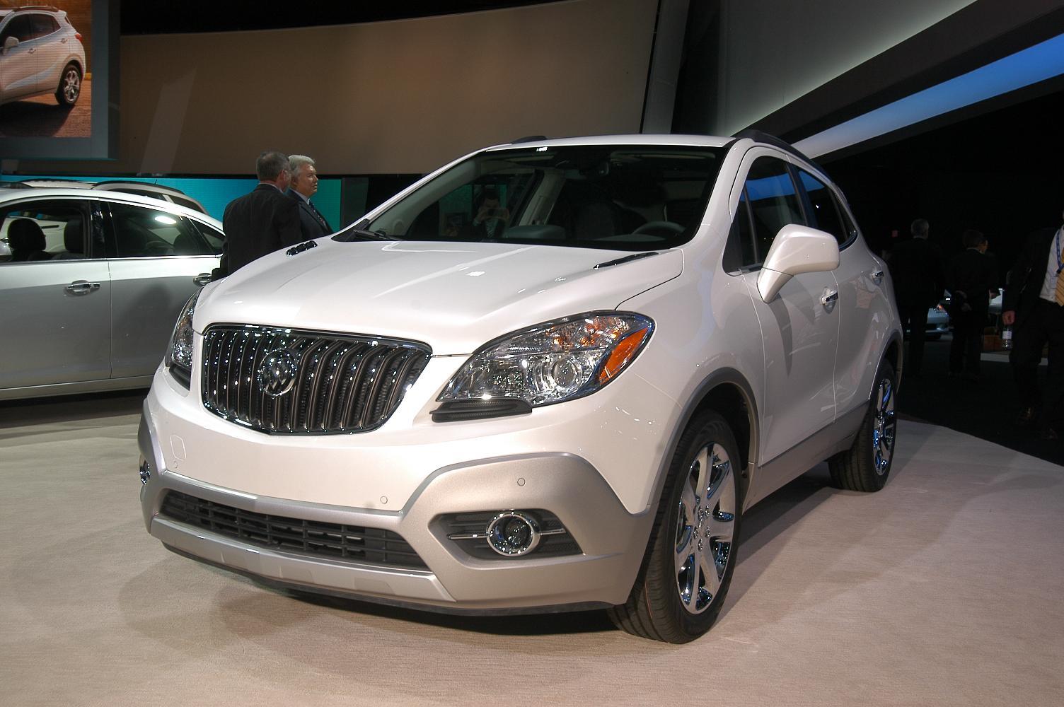 Buick Encore NAIAS 2012