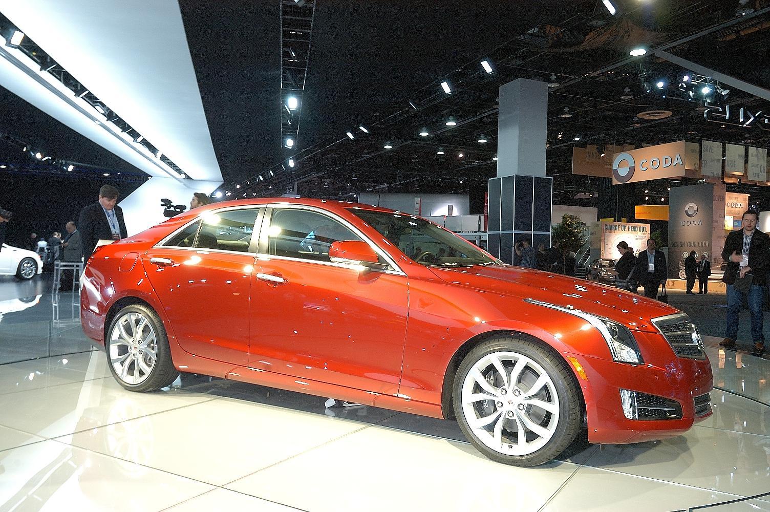 Cadillac ATS NAIAS 2012 2