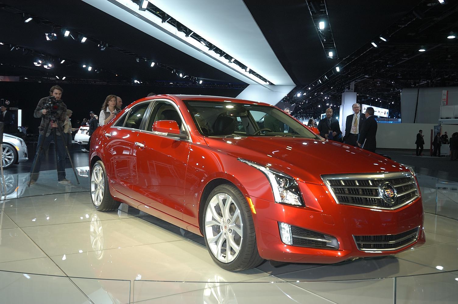 Cadillac ATS NAIAS 2012 3