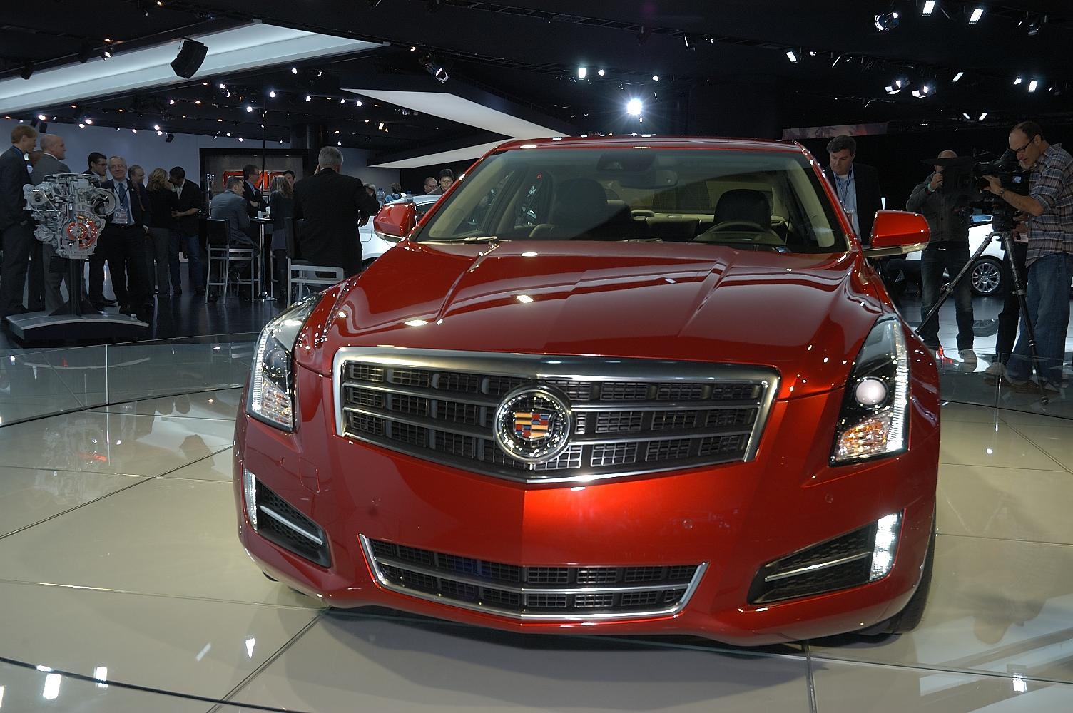 Cadillac ATS NAIAS 2012 4