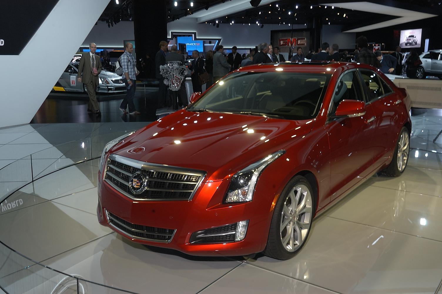 Cadillac ATS NAIAS 2012 5