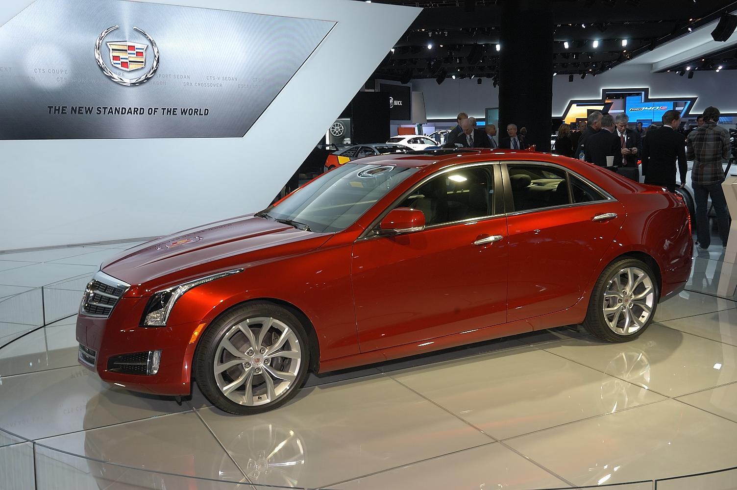 Cadillac ATS NAIAS 2012 6