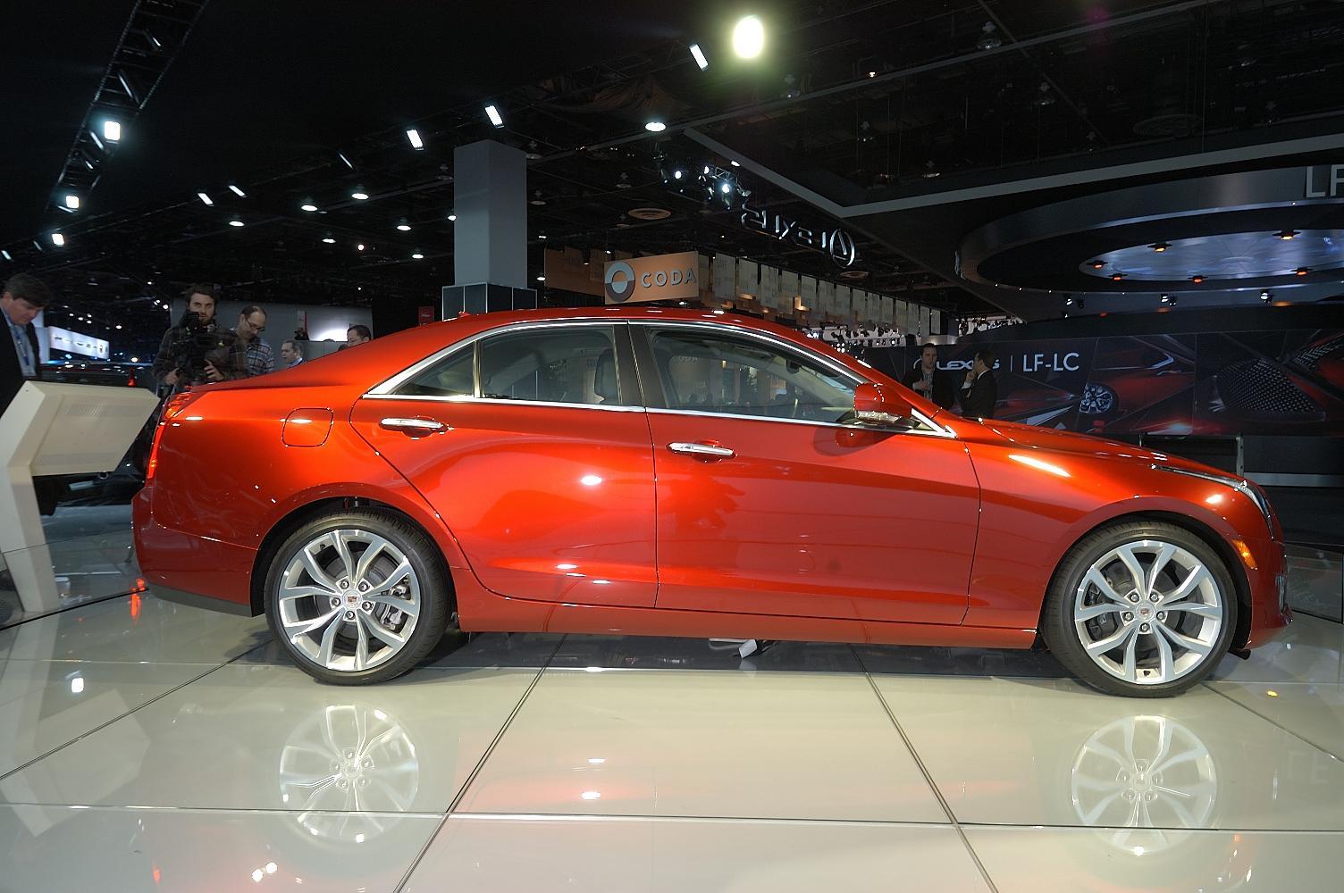 Cadillac ATS NAIAS 2012
