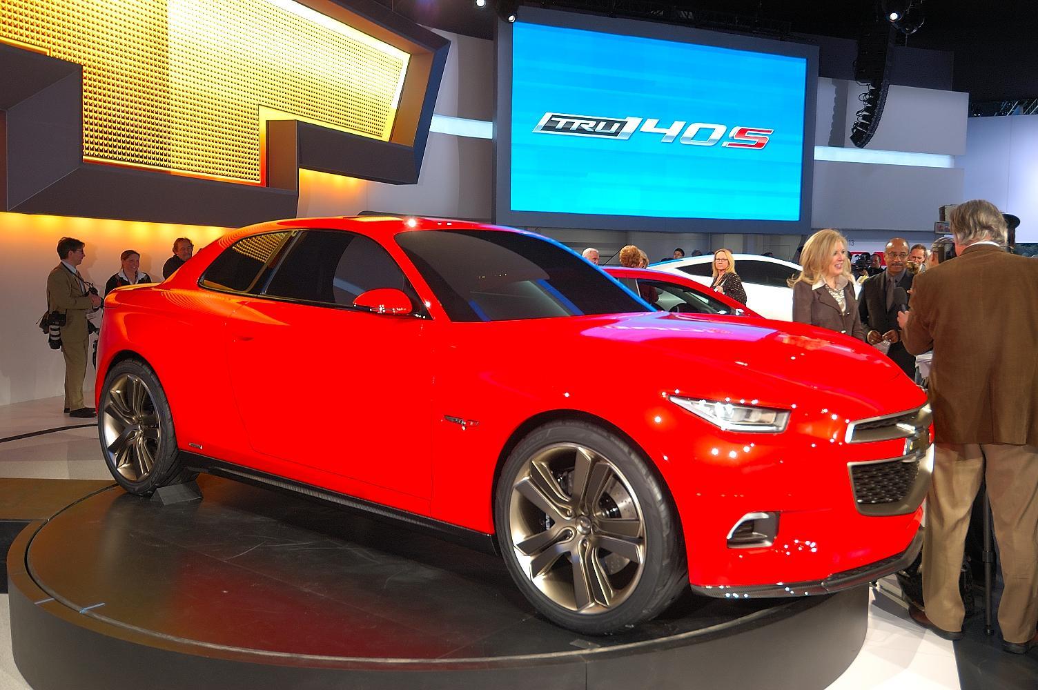 Chevrolet 130R Concept NAIAS 2012 4
