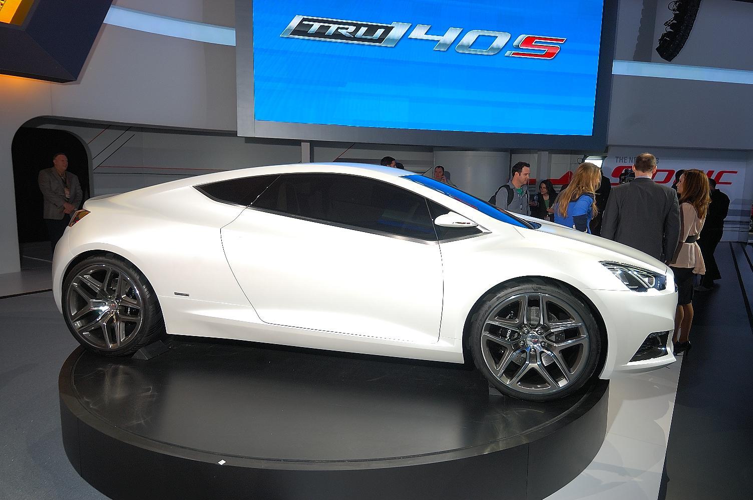 Chevrolet Tru 140S Concept NAIAS 2012