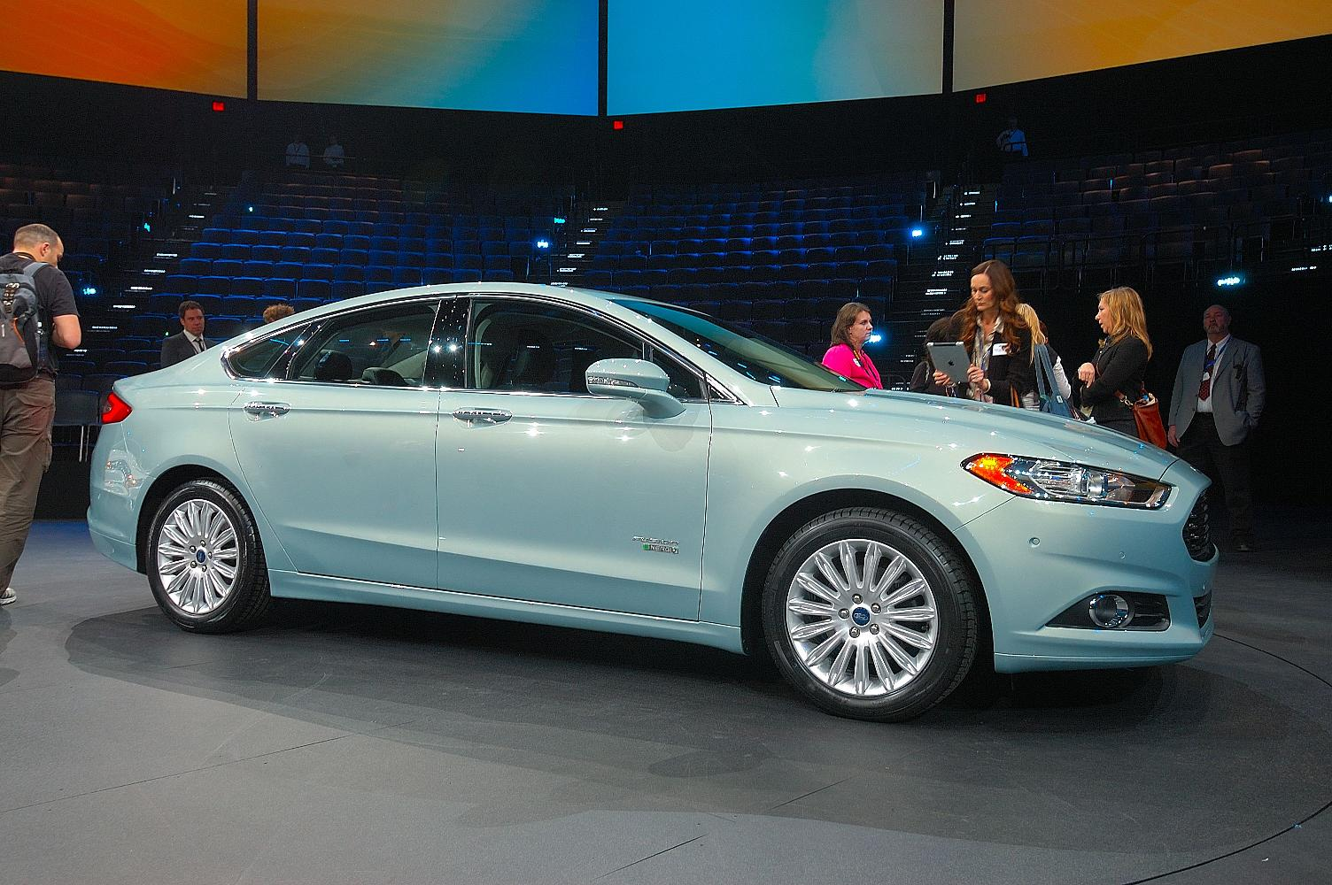 Ford Fusion NAIAS 2012