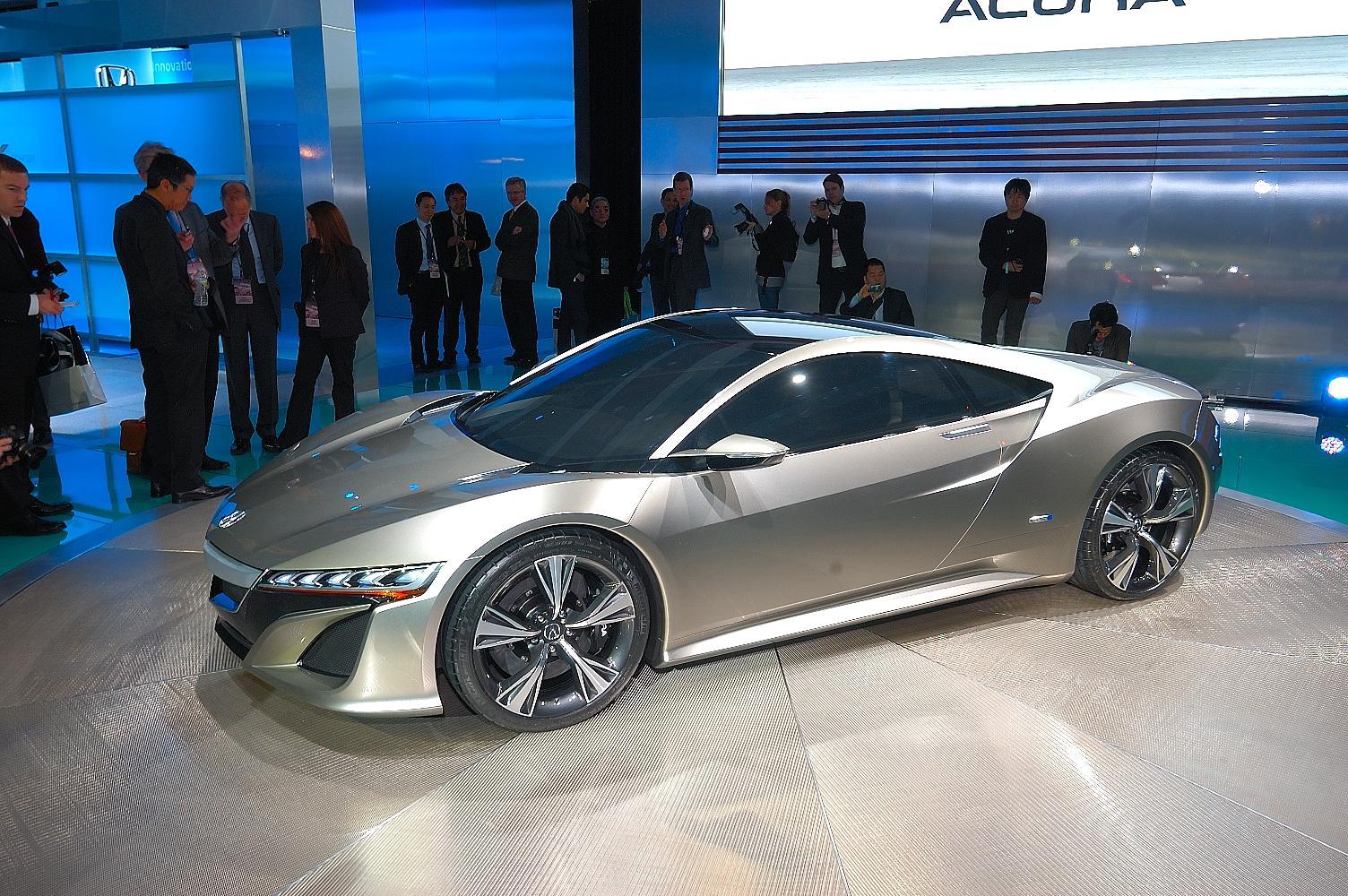Honda NSX Concept NAIAS 2012 3
