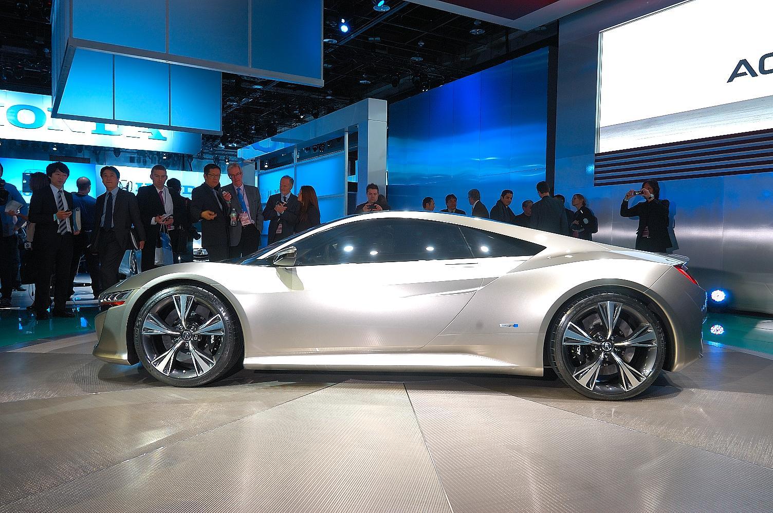 Honda NSX Concept NAIAS 2012 4