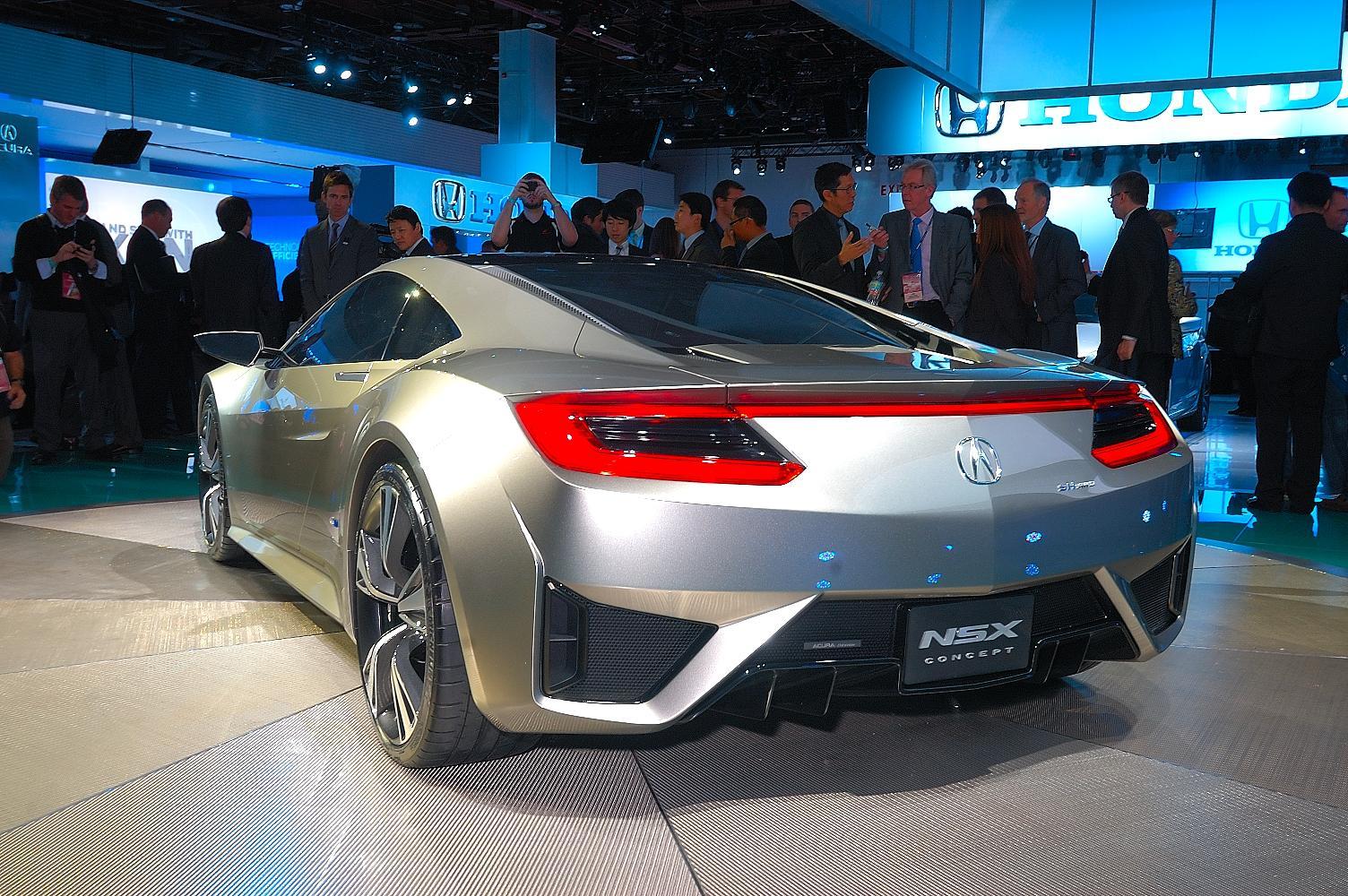 Honda NSX Concept NAIAS 2012 5
