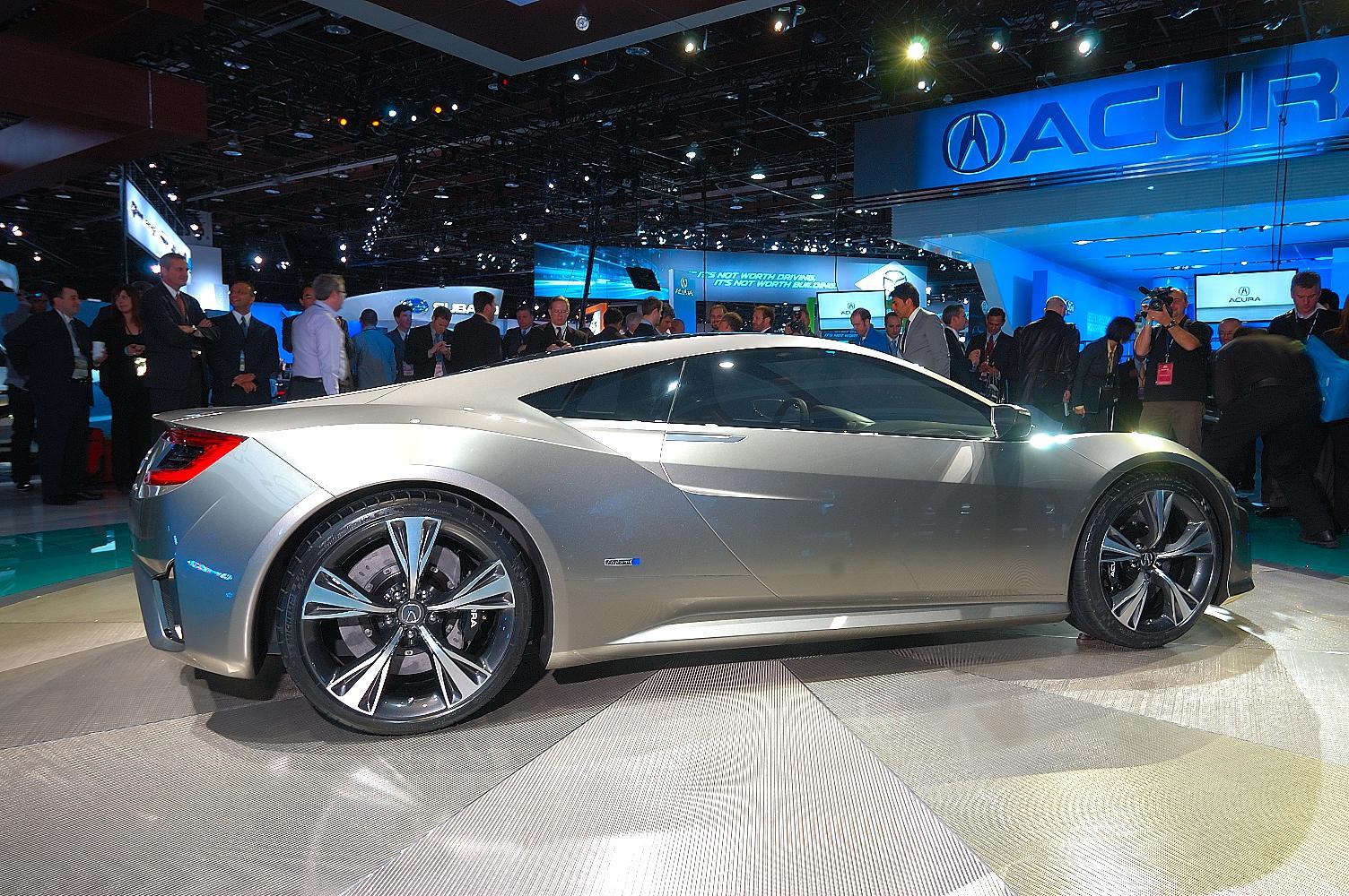 Honda NSX Concept NAIAS 2012 7