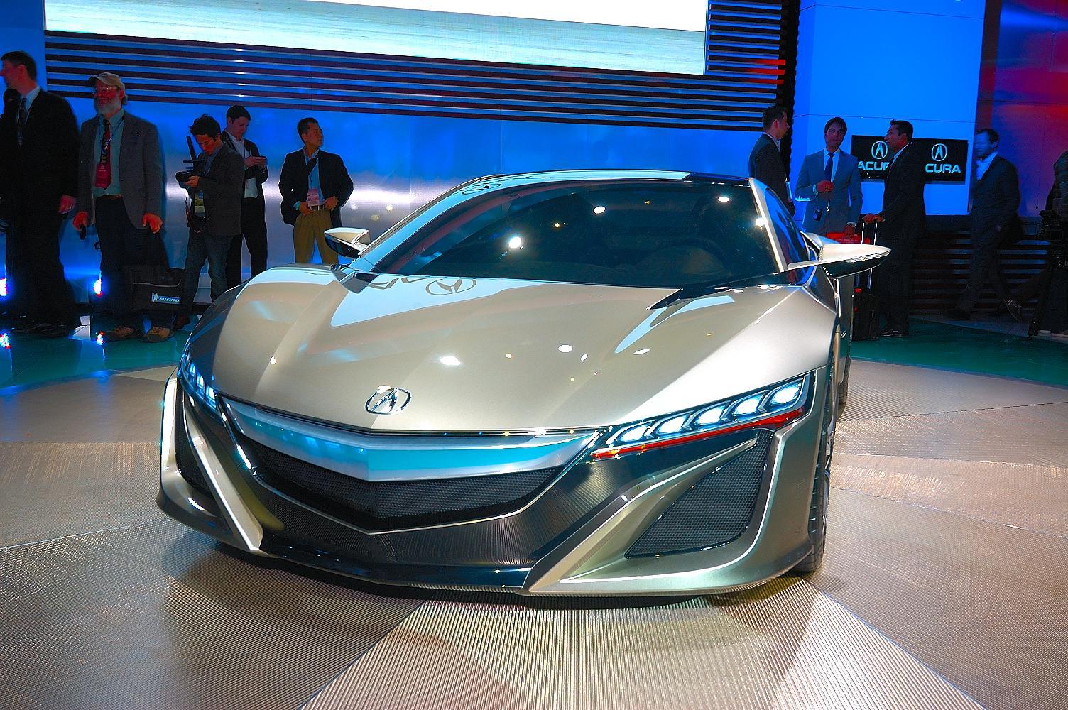 Honda NSX Concept NAIAS 2012