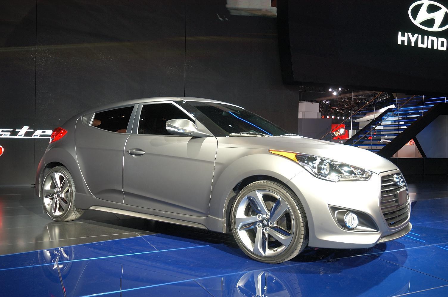 Hyundai Veloster NAIAS 2012 2