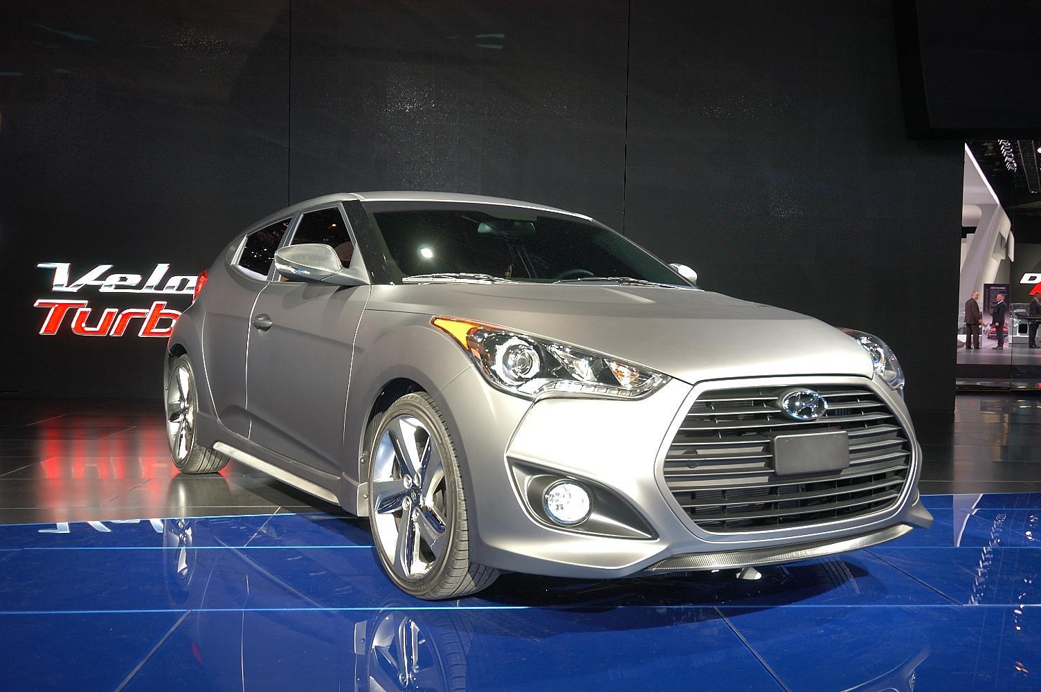 Hyundai Veloster NAIAS 2012