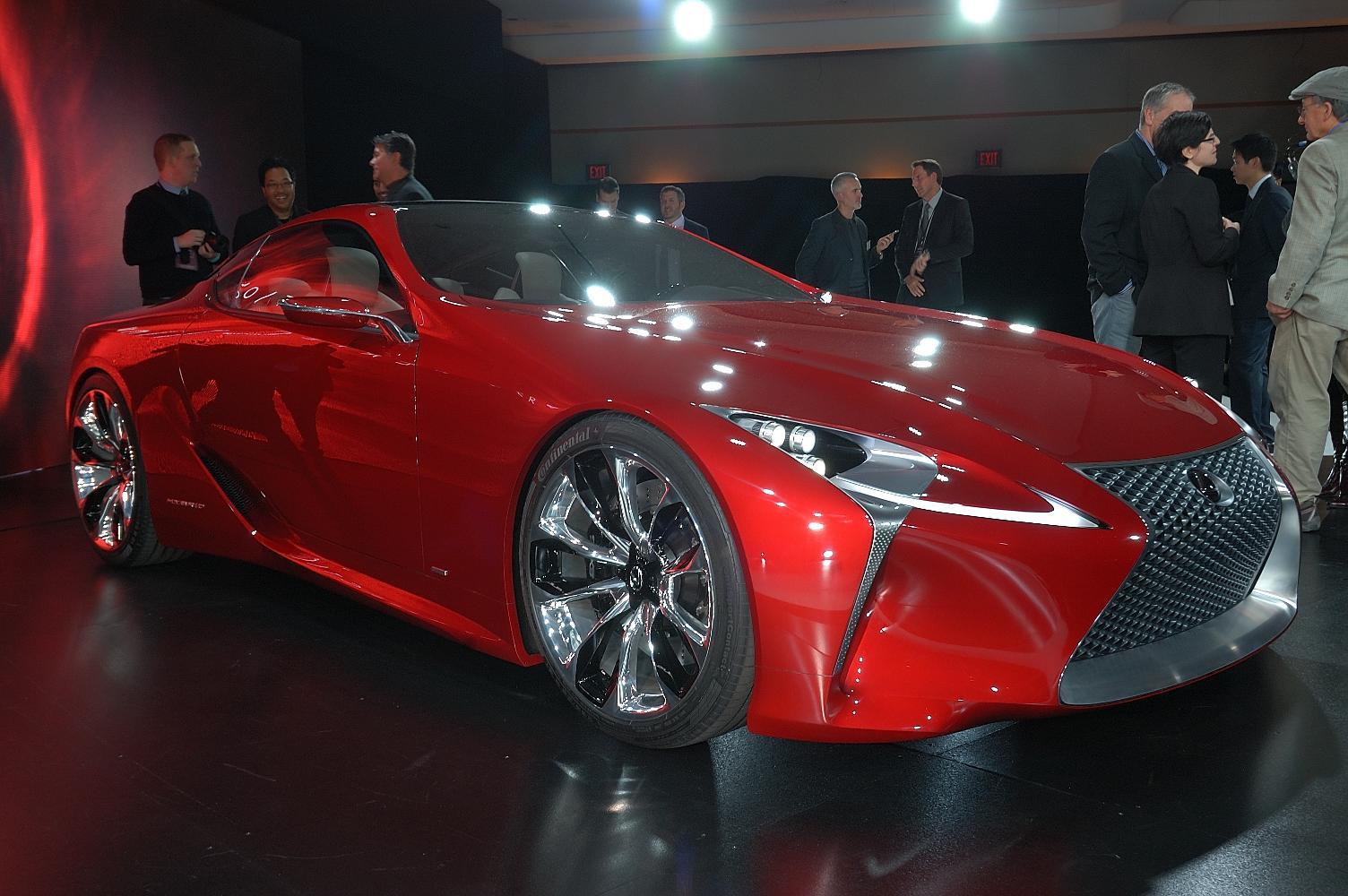 Lexus LF-LC Concept NAIAS 2012 2