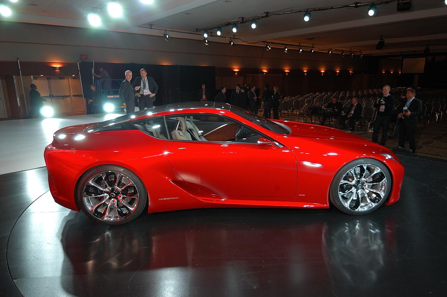 Lexus LF-LC Concept NAIAS 2012 3