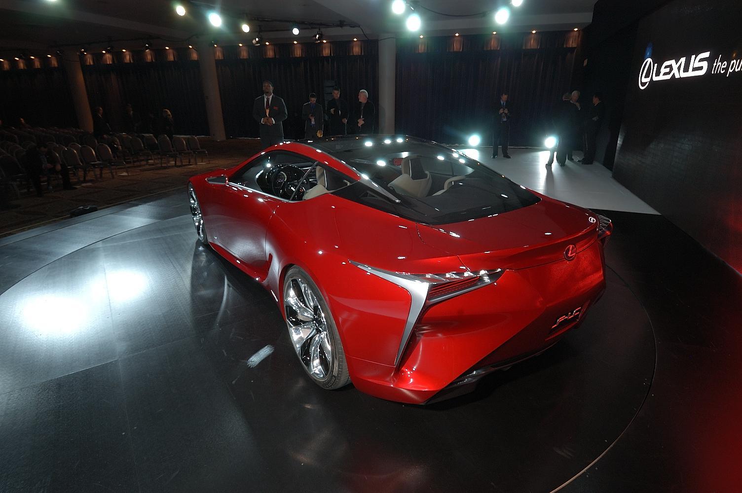 Lexus LF-LC Concept NAIAS 2012 4