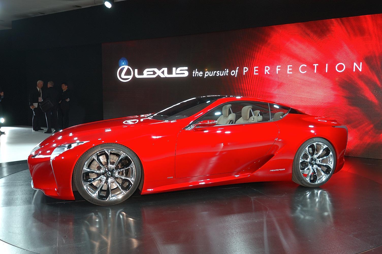 Lexus LF-LC Concept NAIAS 2012 5