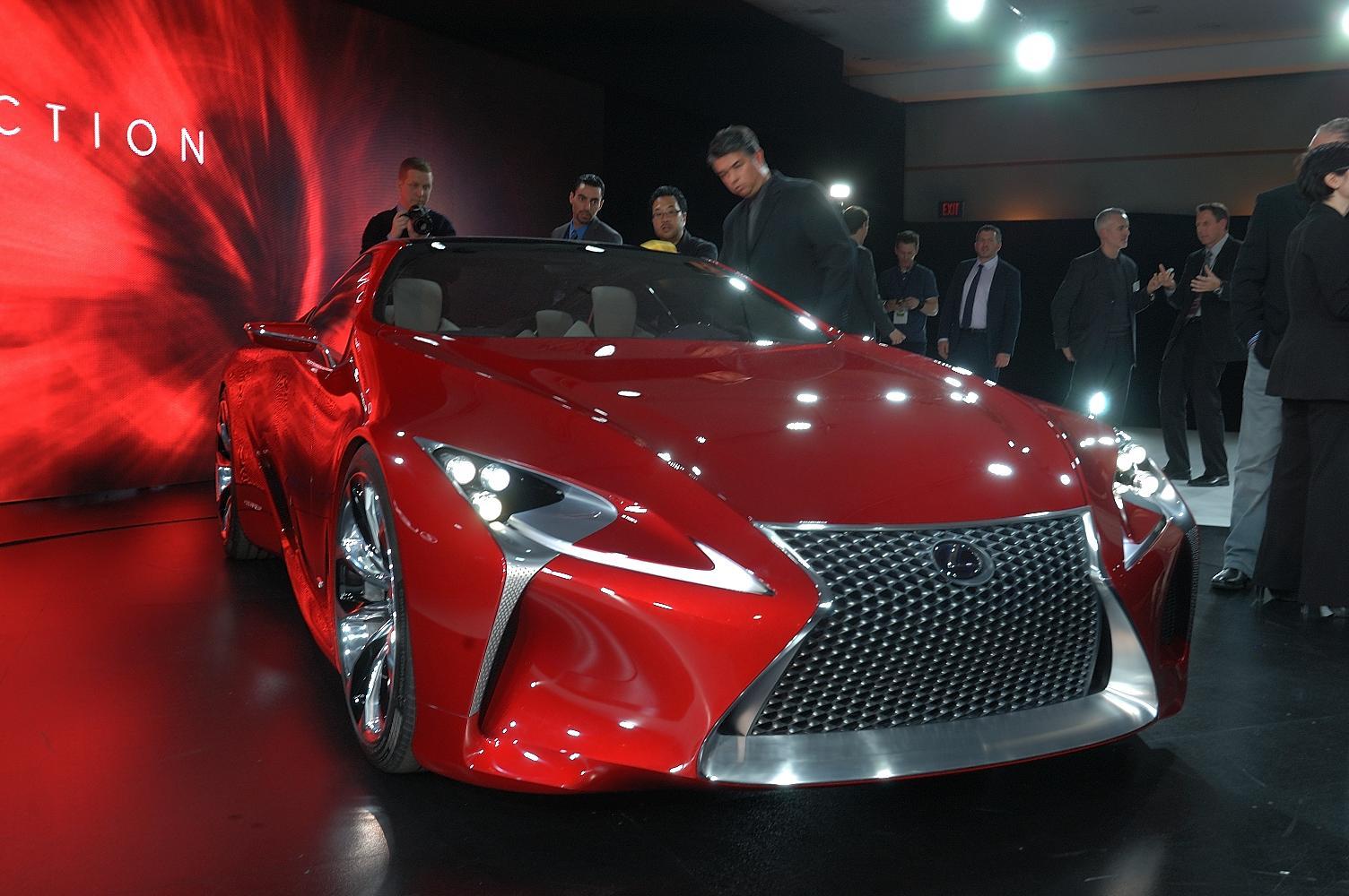 Lexus LF-LC Concept NAIAS 2012
