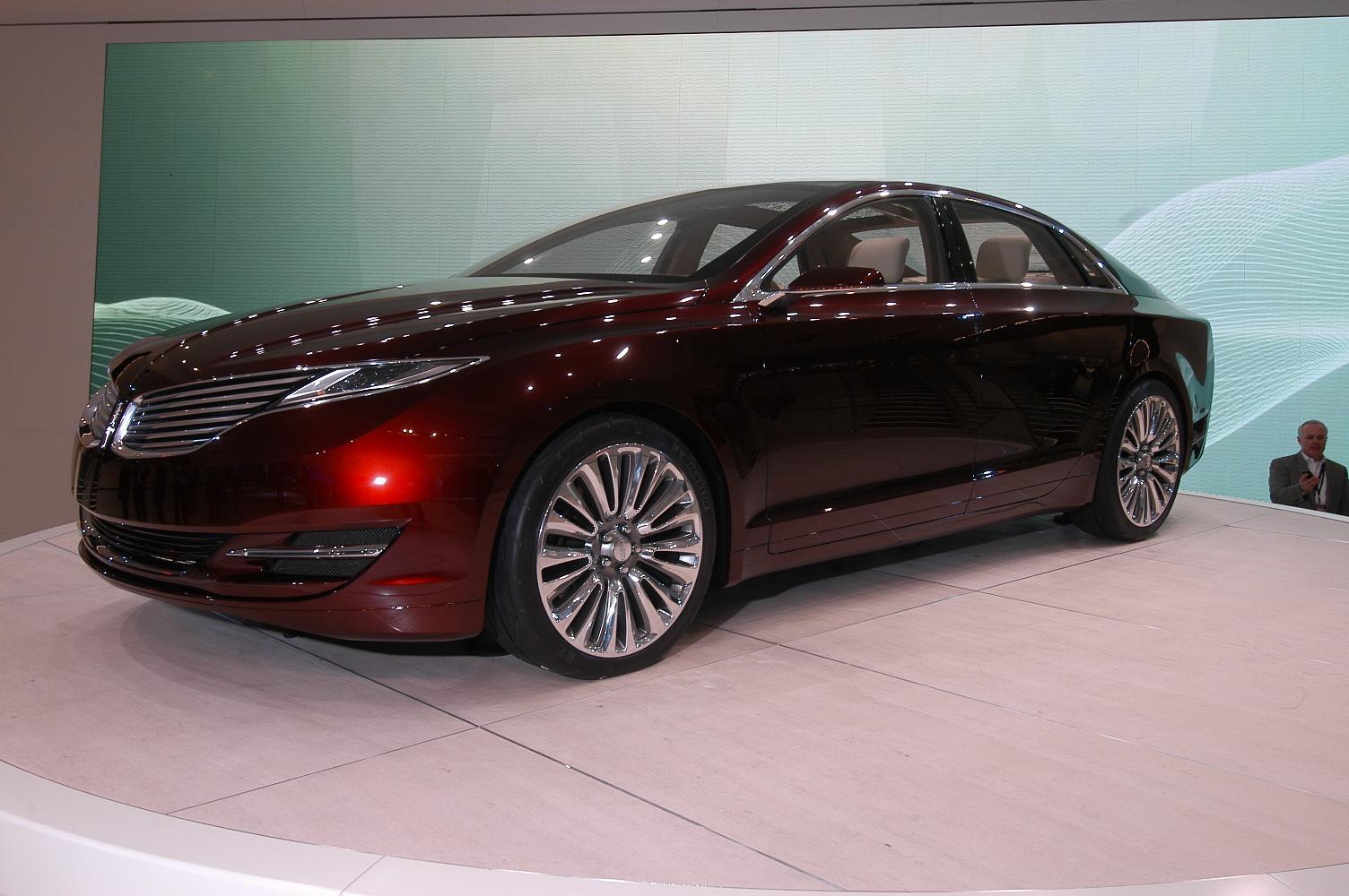 Lincoln MKZ NAIAS 2012 2