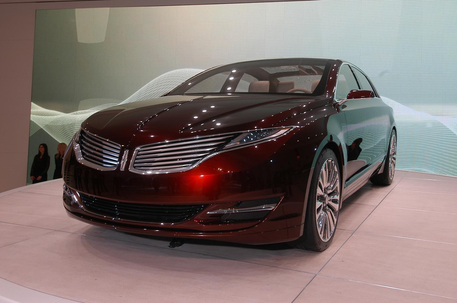 Lincoln MKZ NAIAS 2012 3