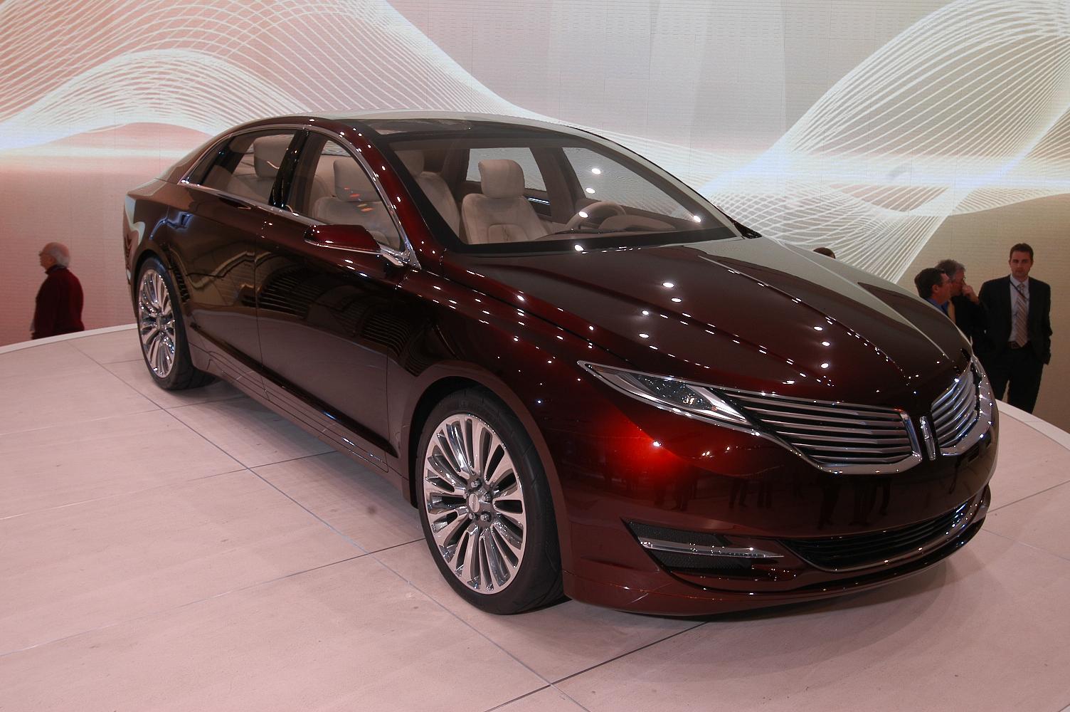 Lincoln MKZ NAIAS 2012 4
