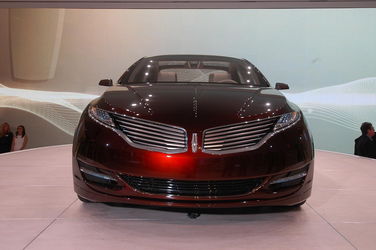 Lincoln MKZ NAIAS 2012 6