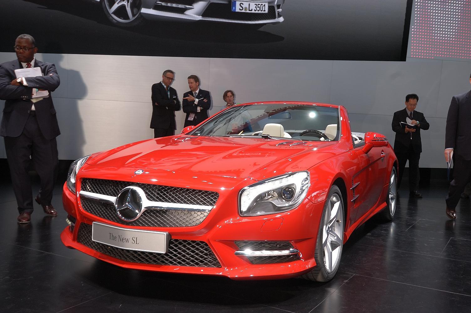 Mercedes SL NAIAS 2012 4