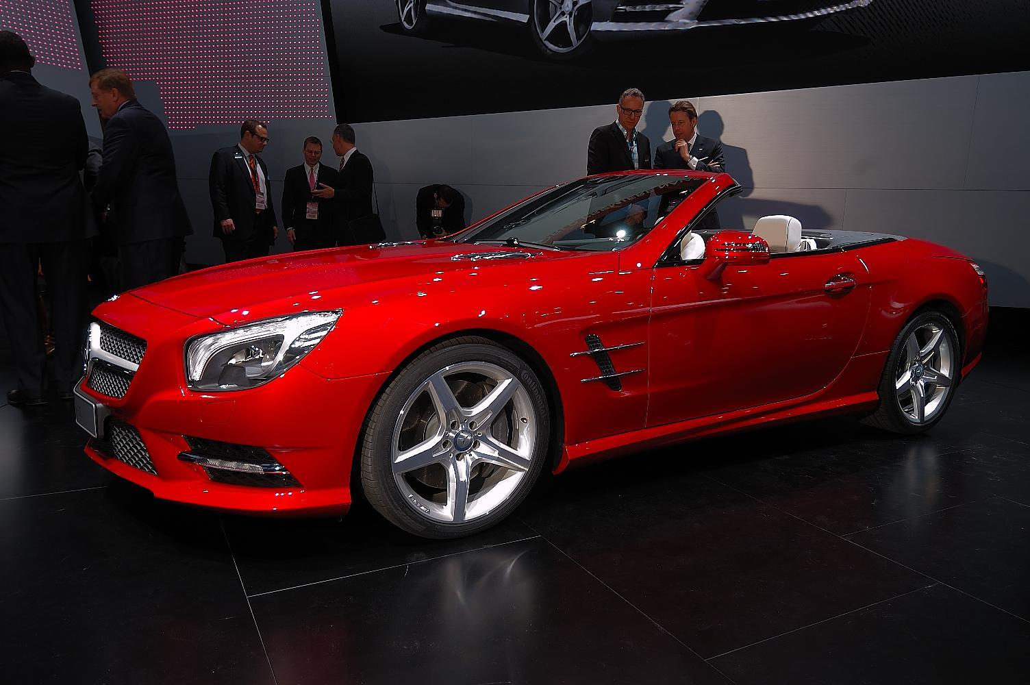 Mercedes SL NAIAS 2012