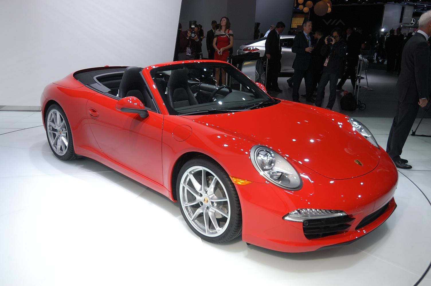 Porsche 911 Cabriolet NAIAS 2012 2