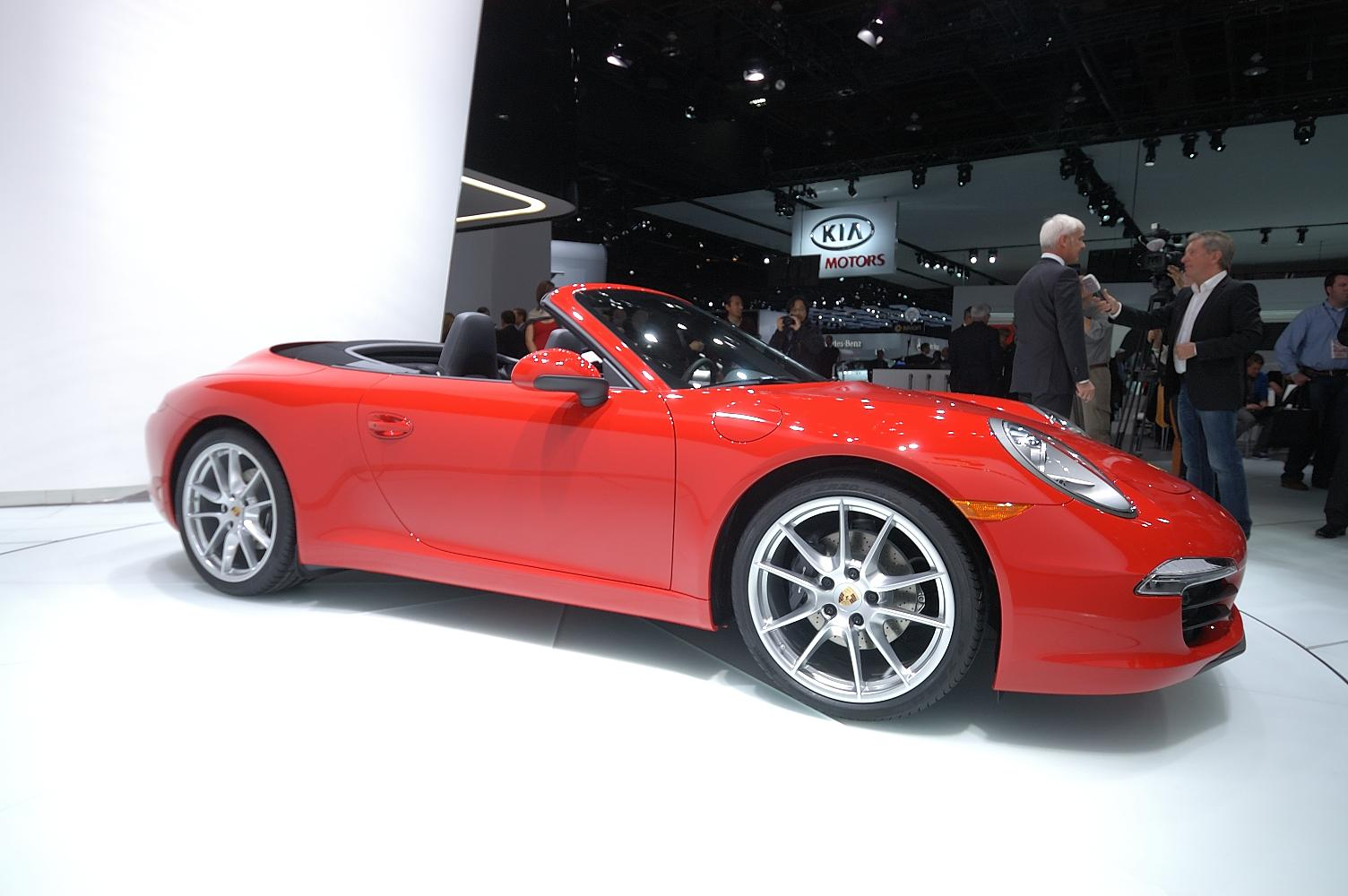 Porsche 911 Cabriolet NAIAS 2012 3