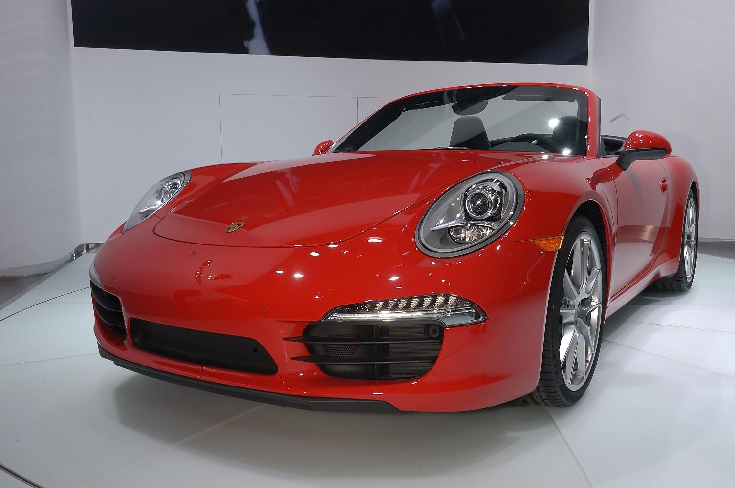 Porsche 911 Cabriolet NAIAS 2012 4