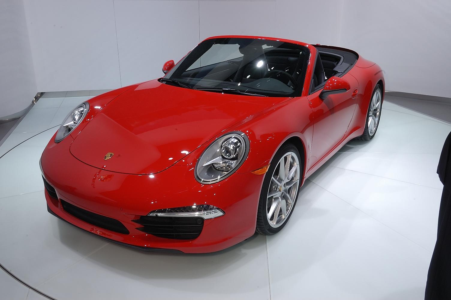 Porsche 911 Cabriolet NAIAS 2012 5