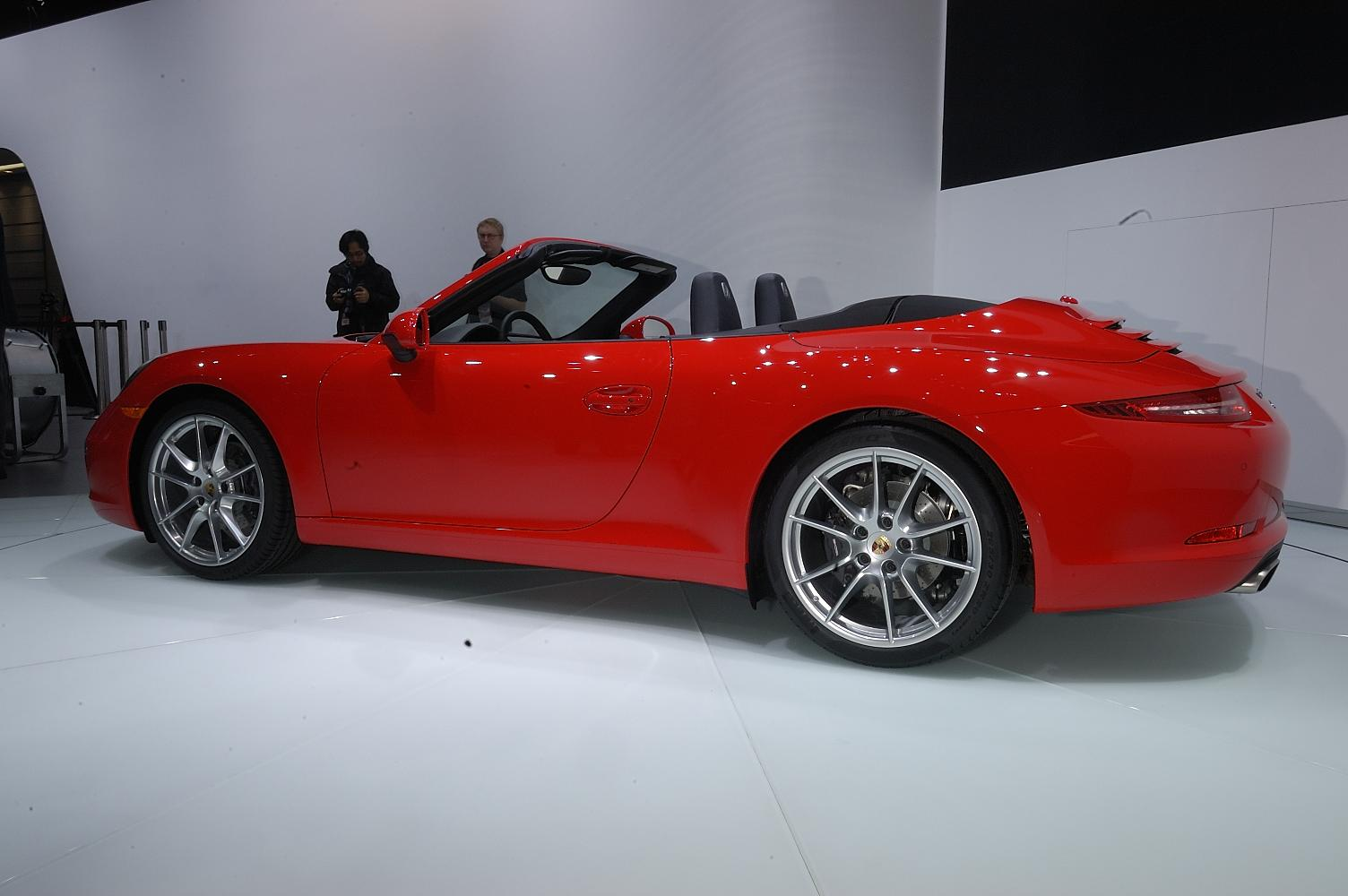 Porsche 911 Cabriolet NAIAS 2012 6