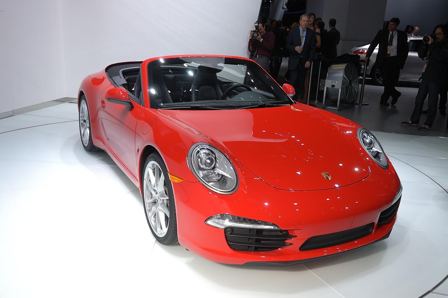 Porsche 911 Cabriolet NAIAS 2012