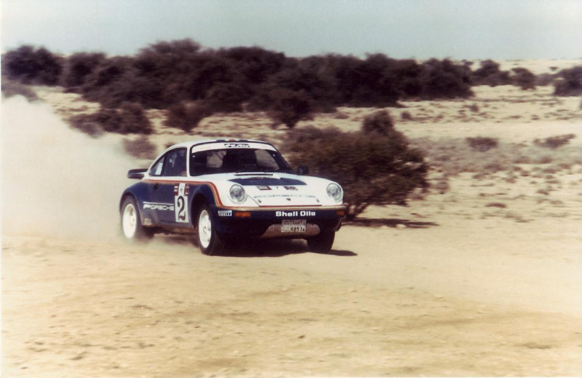 Porsche 911 SC RS Rothmans Qatar 1984