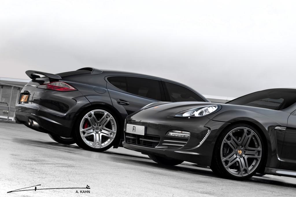 Porsche Panamera A. Kahn Design Wide Track