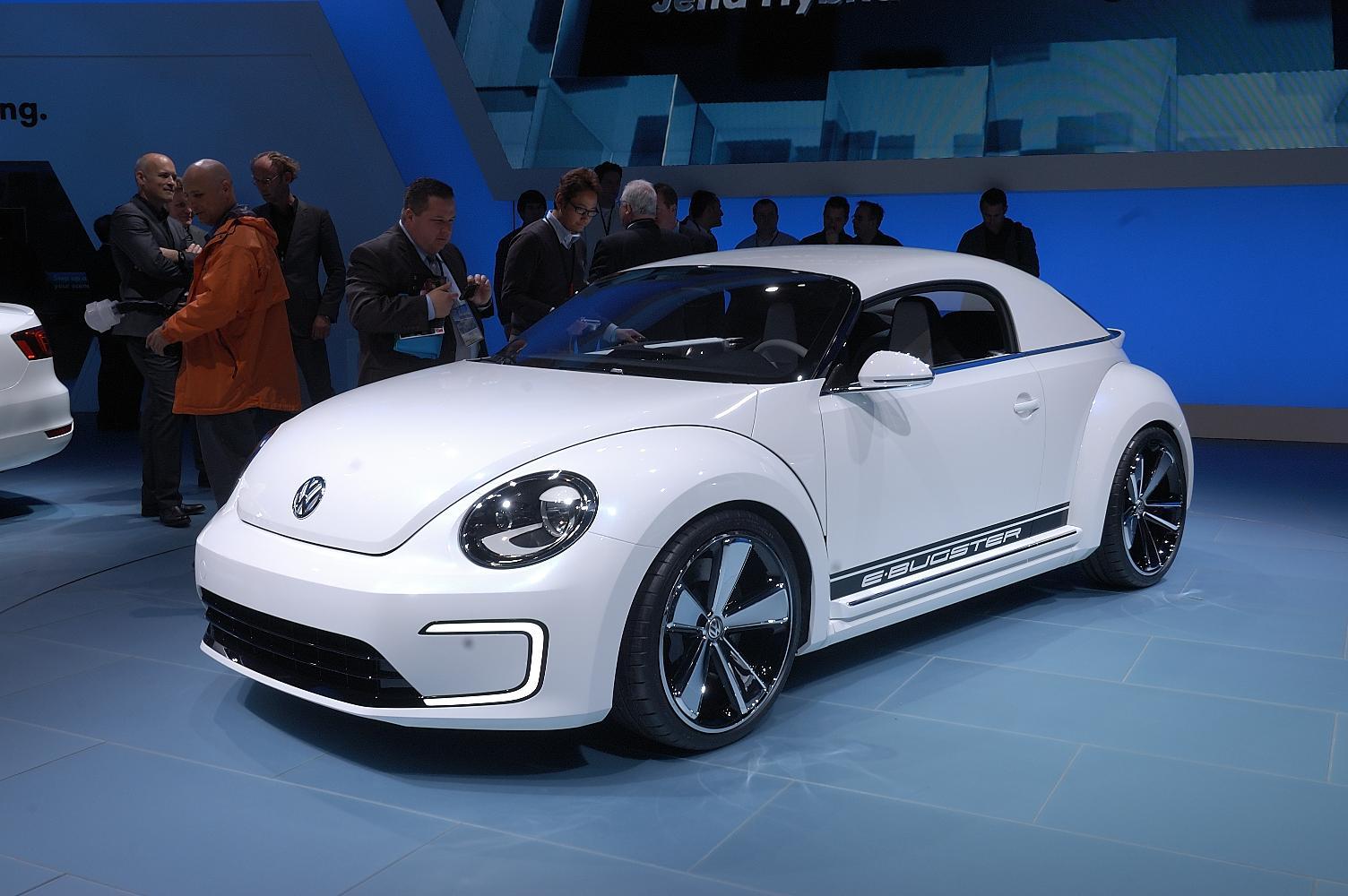 VW E-Bugster NAIAS 2012 2