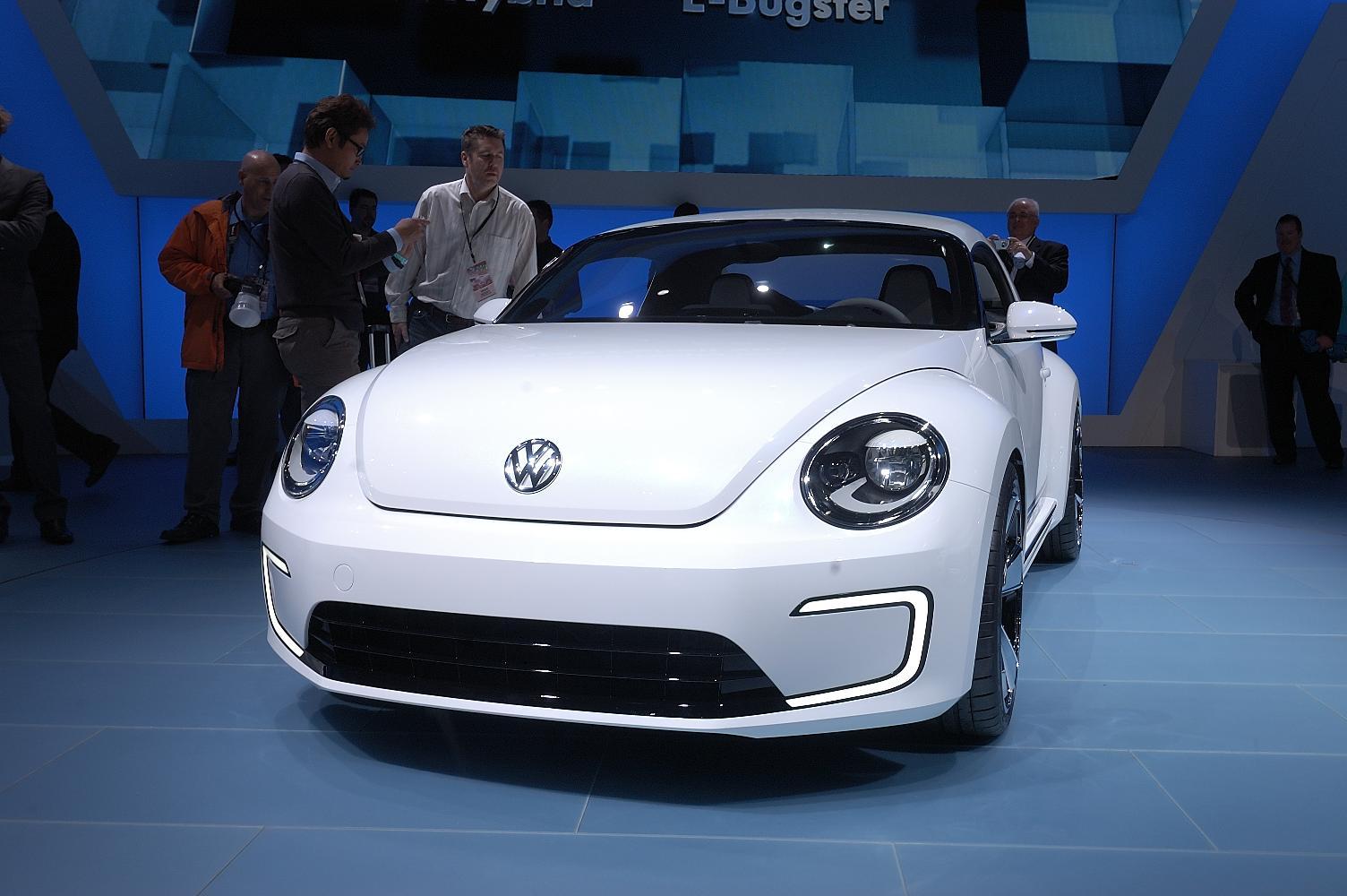VW E-Bugster NAIAS 2012