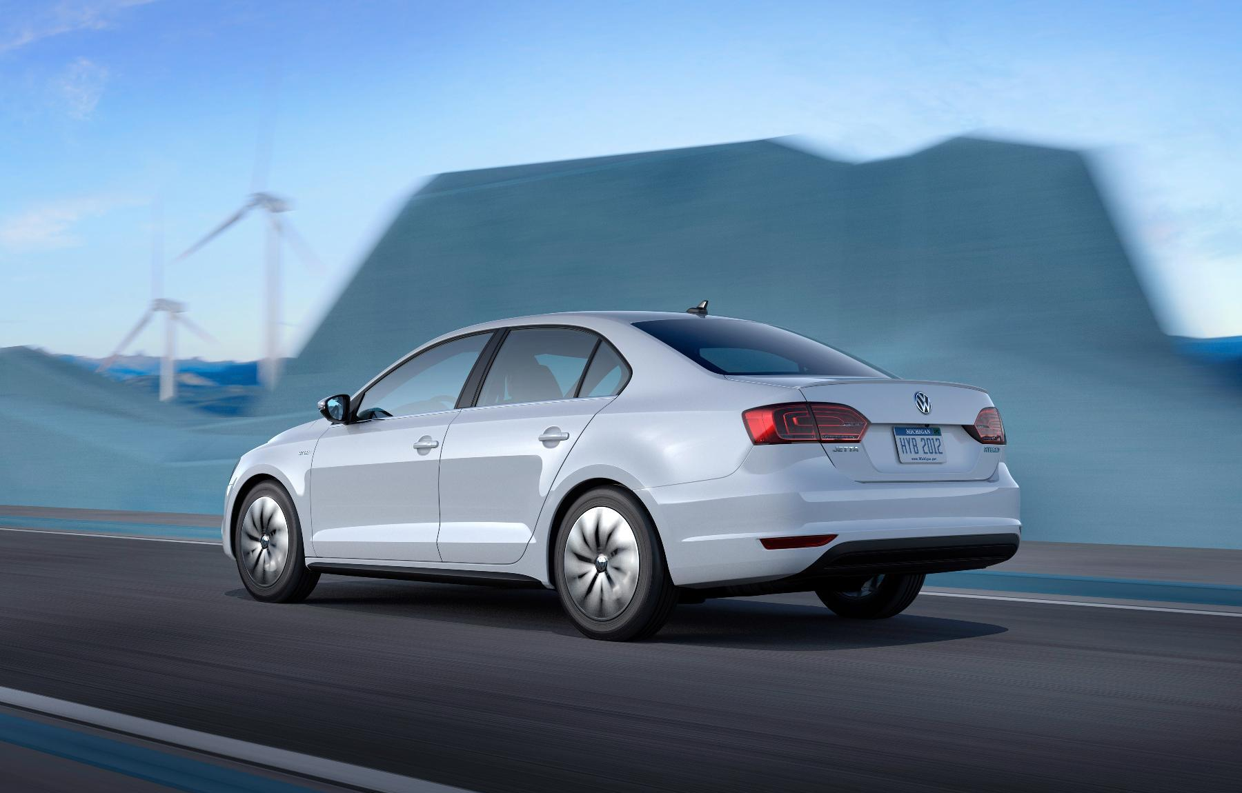 VW Jetta Hybrid 5