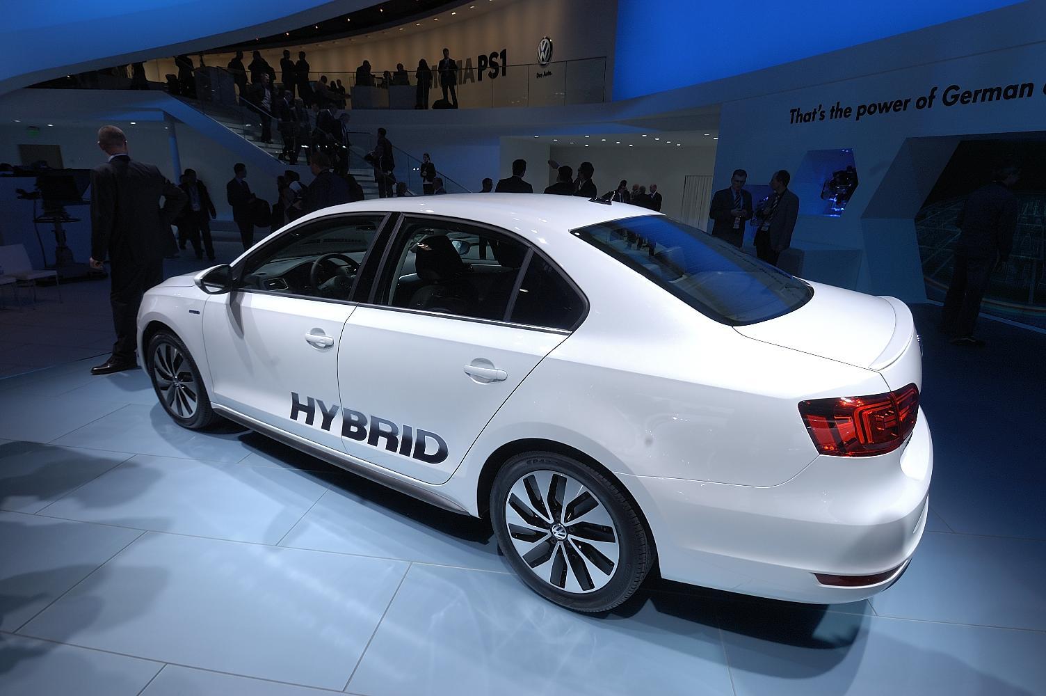 VW Jetta Hybrid NAIAS 2012 2