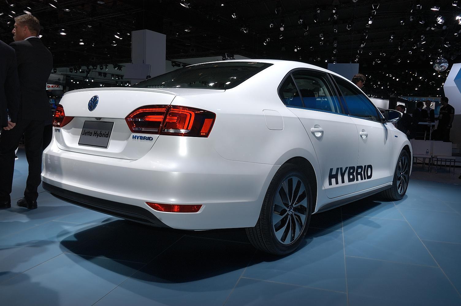 VW Jetta Hybrid NAIAS 2012 3