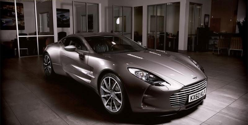 Aston Martin One-77 No. 77 2