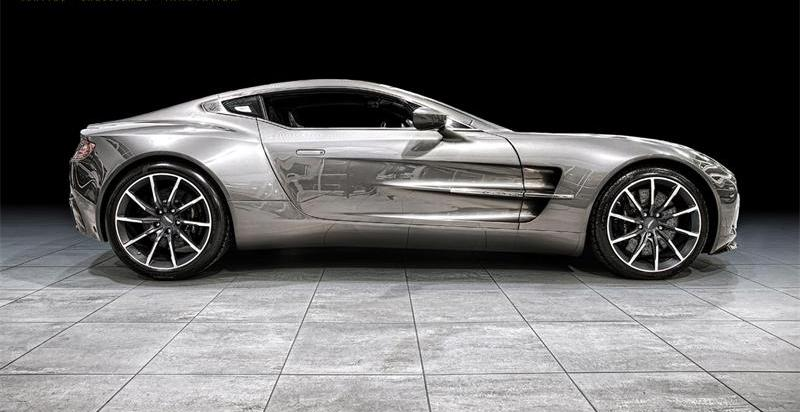Aston Martin One-77 No. 77 3